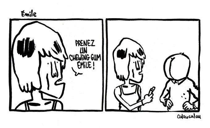 Emile dans Les Bêtises de Pascal emile1