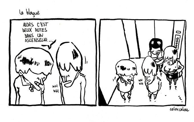 La blague dans Les Bêtises de Pascal la-blague