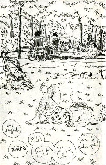parc-luther-king-2 croquis dans Carnets