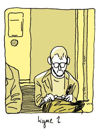 Pascal dans le métro dans Carnets pascal_metro1
