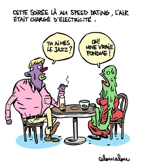 38-Le speed dating