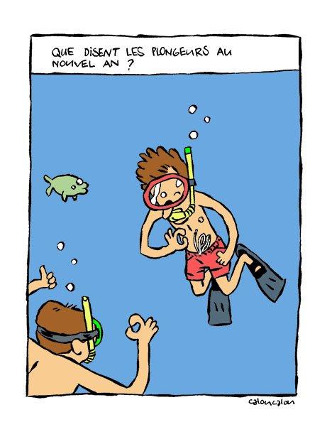 Plongeur - Dessin plongeur ...